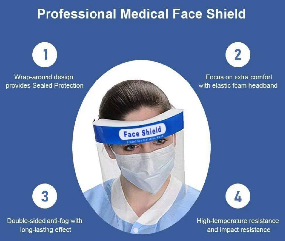 Gesichtsvisier Face Shield